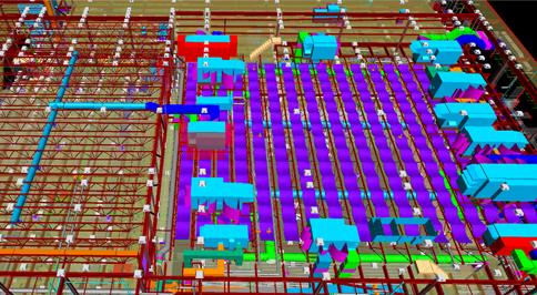 Warehouse BIM Model