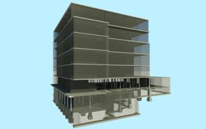 Floor by floor structural BIM model