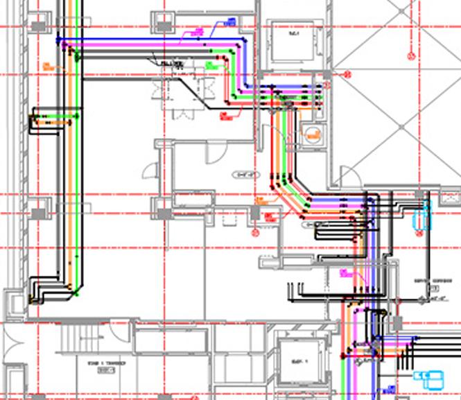 prefabrication and spooling plan drawings