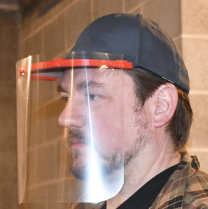 Baseball Cap Face Shield