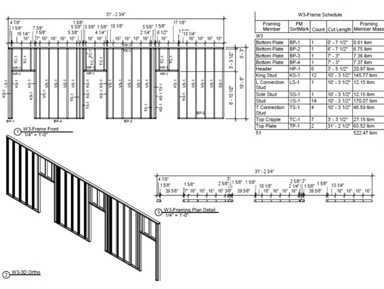 Wall-Frame-Modeling