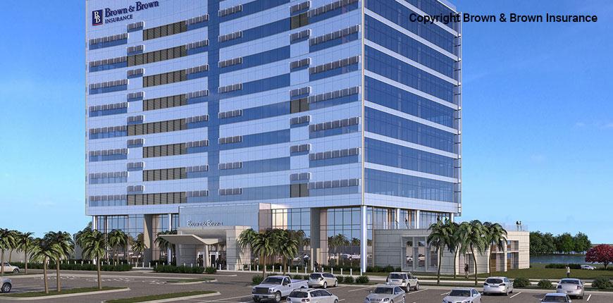 Brown & Brown Headquarters in Daytona Beach, Florida.
