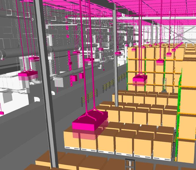 Electrical BIM Model by DJM Design CAD & Coordination